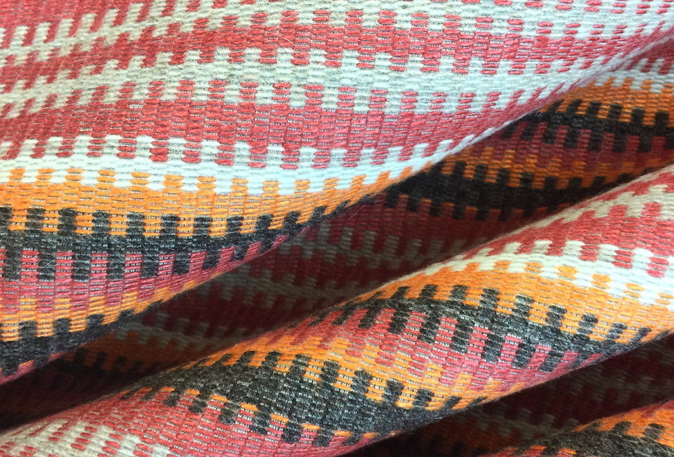 Andrew Martin - Cuchillas Multi - Multicolored Tribal Print - Multicolor Aztec