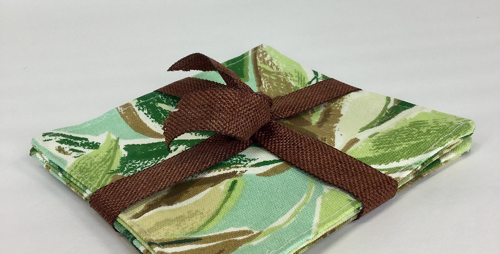 Spring Leaves - Cocktail Napkins