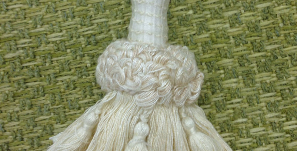 Cream Tassel - ACCENT TASSEL - Home Decor