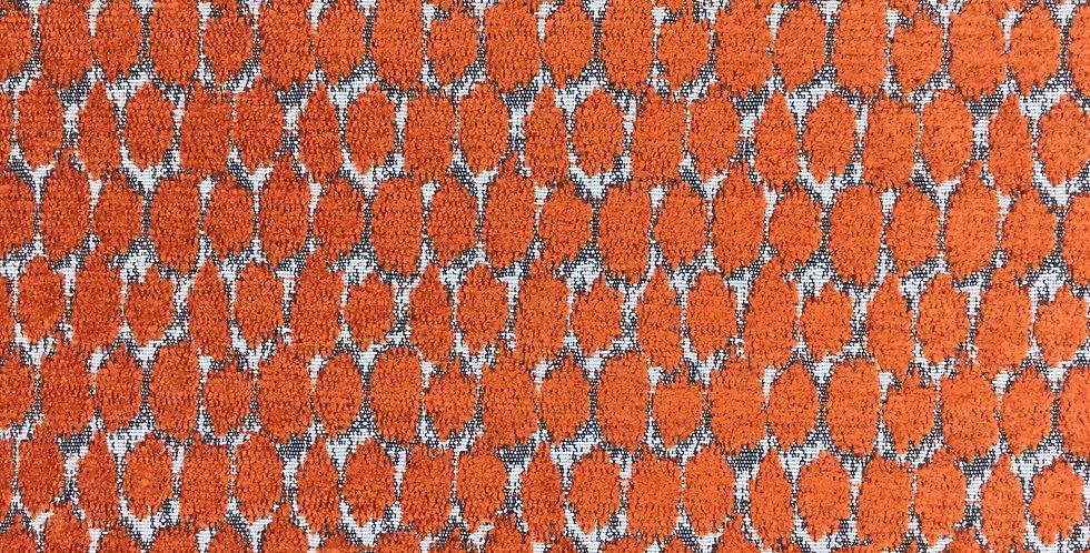 Orange Chenille Dot