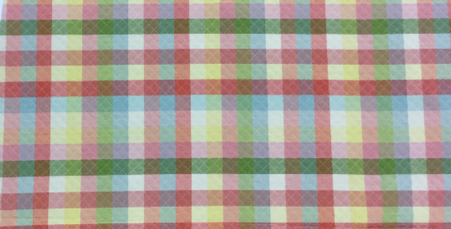 Multicolor - Plaid - Quilt