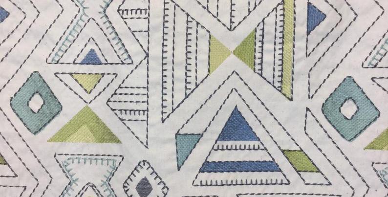 Barista Minera- light blue- Dark Blue- embroidery