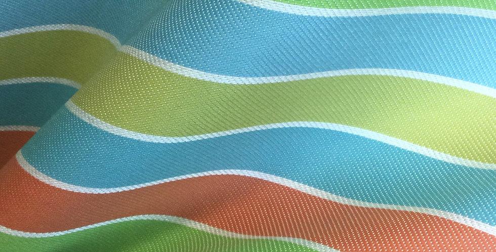 SD- Raceway - Color Citrus - Outdoor Fabric - Beach Stripe - Awning Stripe