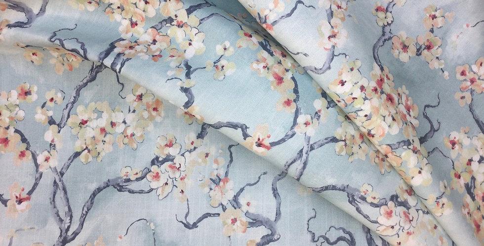 Sakura - Spa - Covington - Cherry Blossom Fabric - Floral Fabric