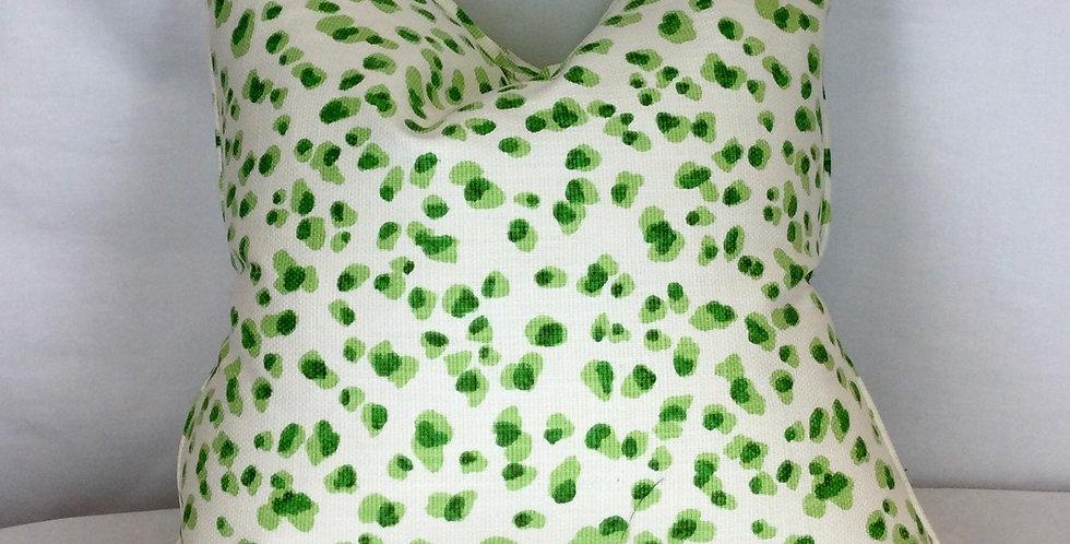 Green Leopard Pillow Cover