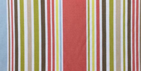 Coral - Green - Stripe