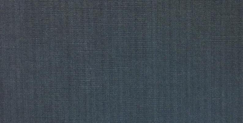 Plush Blue Velvet- cotton -blue