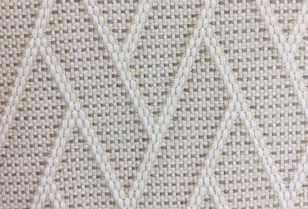 White and Cream Geo Pattern