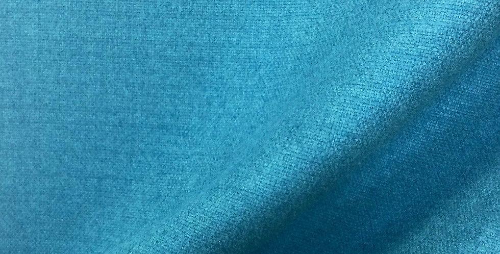 Caribbean Blue Solid - Blue Neutral Pillows - Accent Pillows