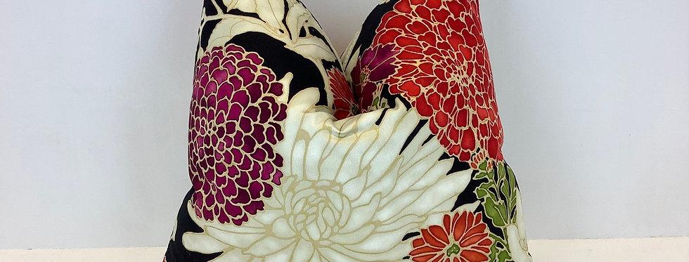 Richloom - St. Moritz Red - Pillow Cover