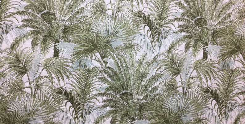 Tommy Bahama - Shoreline - Palm Fabric - Tropical Fabric By The Yard - Exotic Ho