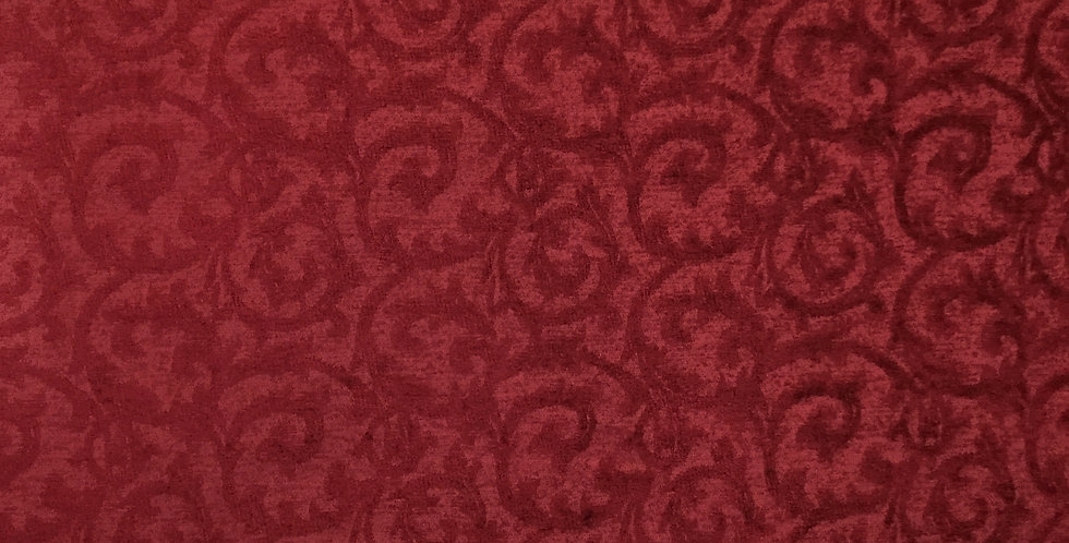 Red - Tone on Tone - Chenille