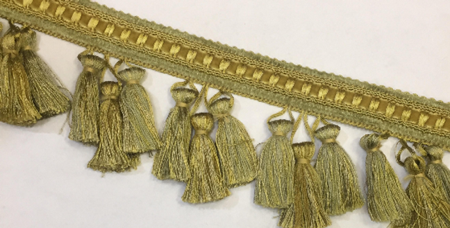 Stroheim and Romann - Tassel Fringe Lemon