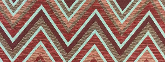 Sunbrella - Fischer - Sangria - Indoor/Outdoor - 100% Solution Dyed Acrylic