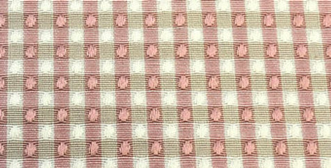 Pink and Cream Small Check