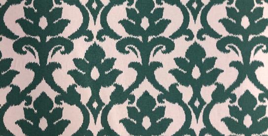 Turquoise Ikat - Upholstery Fabric