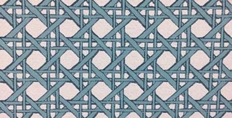 Aqua Lattice - Blue Stripe