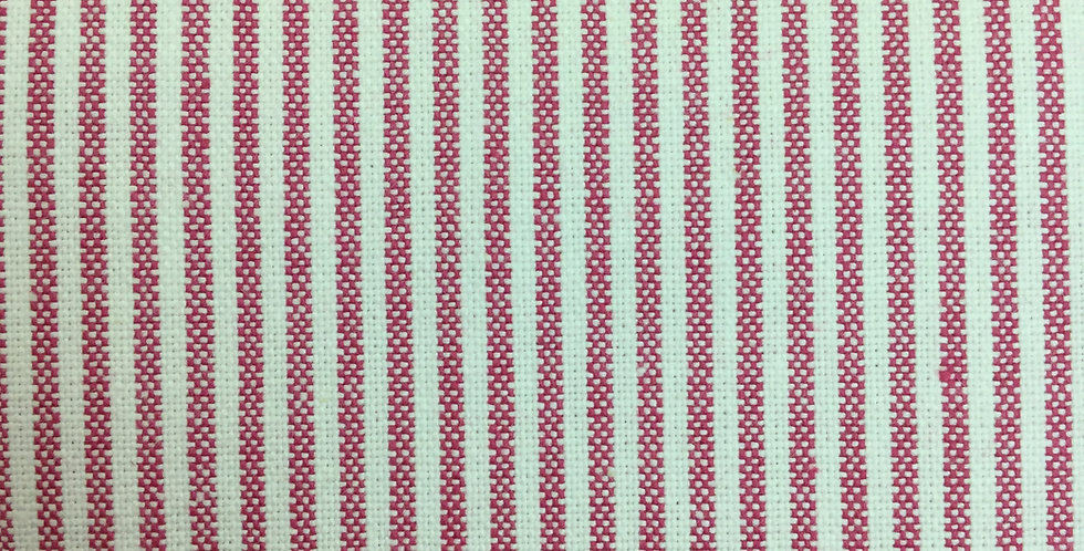 Pink Ticking Stripe - Baldwin - Pepper