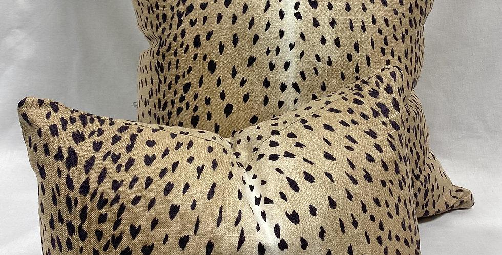 Classic Black Antelope Pillow Covers. - Vern Yip Pillows - Deer Pillows - Fawn