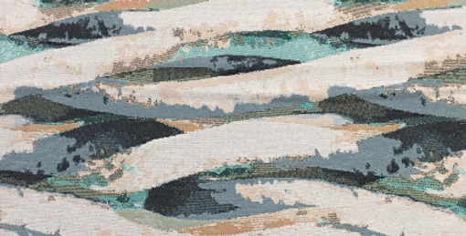Painted Waves - Ocean - Blue