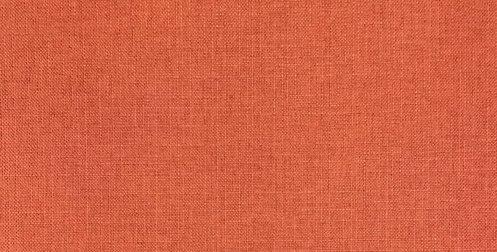 Turbo Coral - Textured Woven Solid