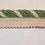 Thumbnail: Lime Green - Off White - Lip Cord