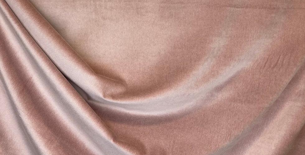 Blush Pink Velvet - Velvet Finish - Accent Pillows - Velvet Upholstery