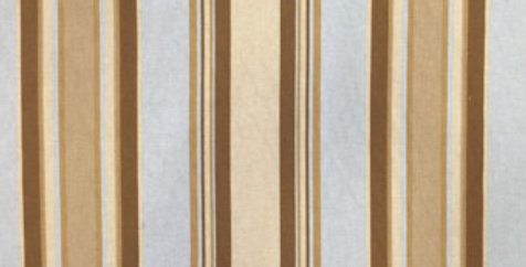 Spa Blue and Brown Stripe