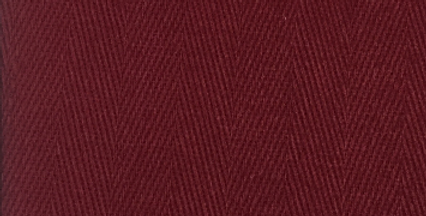 Solid Burgundy Herringbone