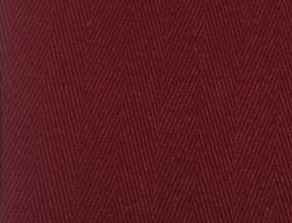 Solid Burgundy Herringbone