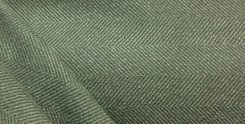 Jumper - Foam - Herringbone - Green Cushions - Green Herringbone Fabric