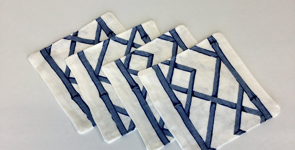 Blue Bamboo - Cocktail Napkins