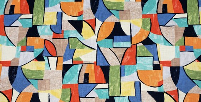 Pablo Fiesta - Multicolor - Geometric - Print