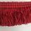 Thumbnail: Bright Red Brush Fringe