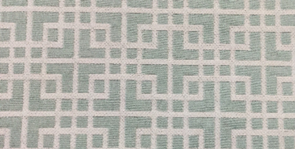 Mint - Blue - Geometric Squares