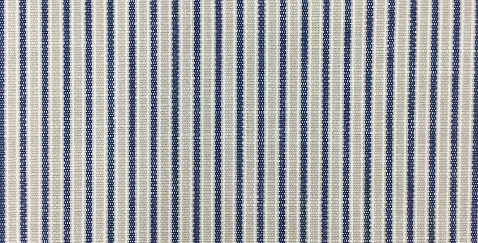 Navy and Taupe Stripe