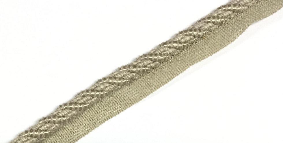 Light Gray - Fawn - Antelope Trim - Lip Cord - Pillow Edging - Cording - Pipping