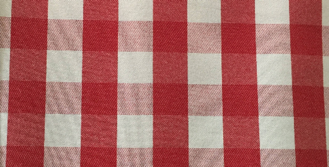 Red and White - Small Buffalo Check