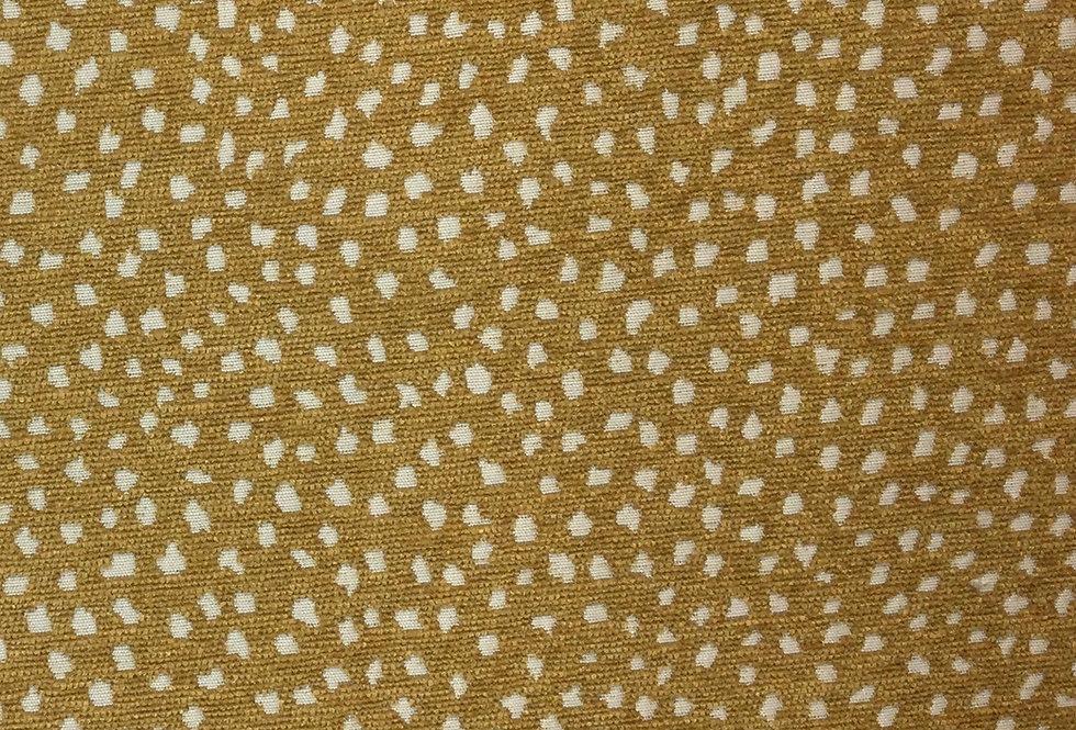 Galaxy Ochre Dotted Fabric