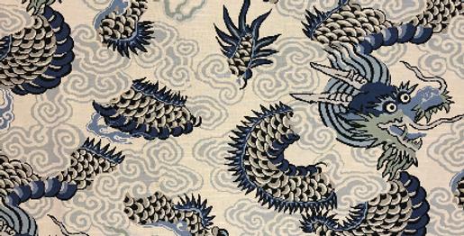 Dragon Blues - Blue - Navy - Aqua