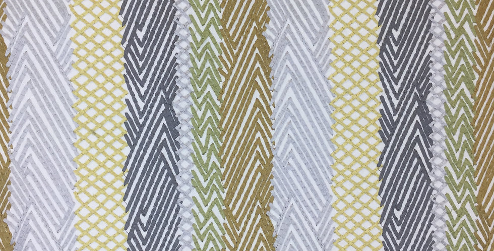 Multicolor Chevron Stripe