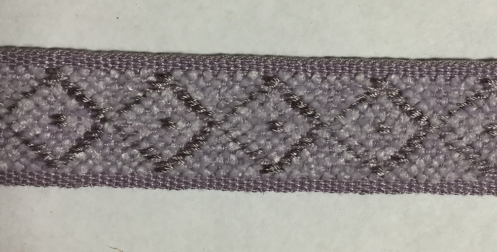 Lavender Diamond Tape Trim