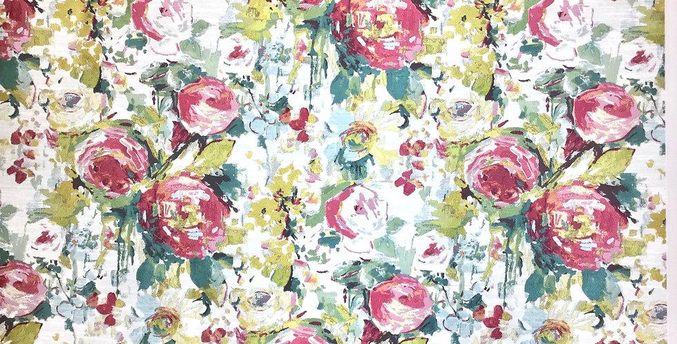 Multicolor Watercolor Floral