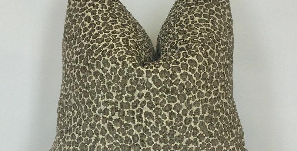 Cheetah Pillow - Brown - Home Accent