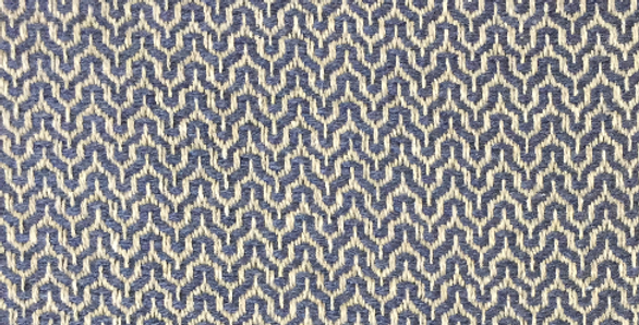 Taupe and Navy Zig Zags