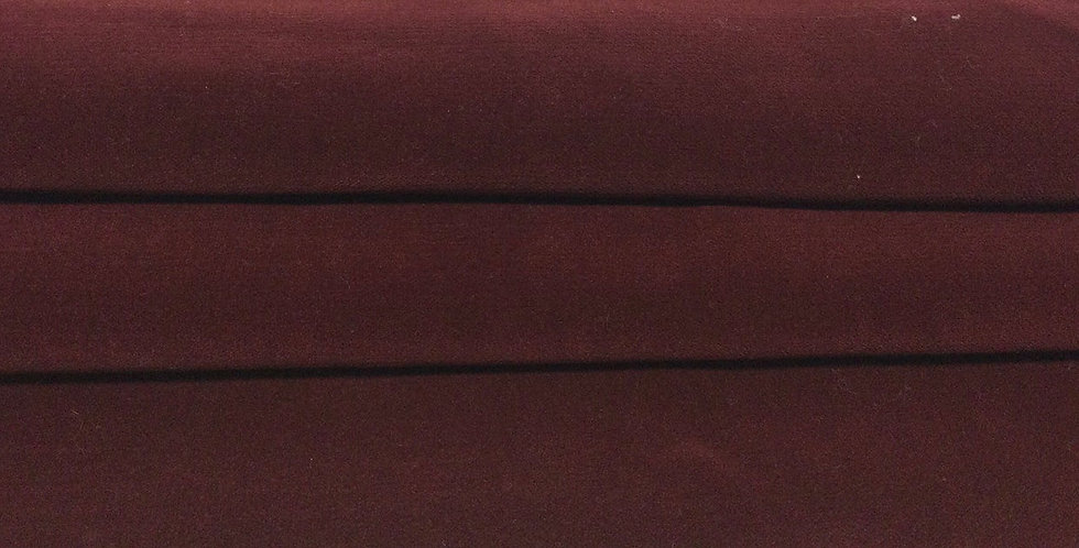 Crimson Red Velvet - Rich Dark Red - Rich Red Fabric - Red Velvet - Soft Texture