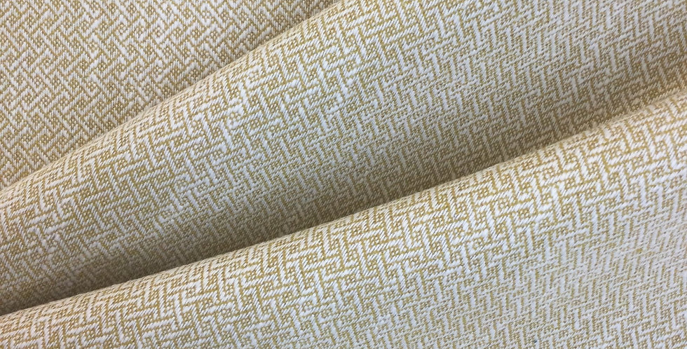 Autumn Gold Basket Weave - Patterned Fabric - Geometric Fabric - Upholstery