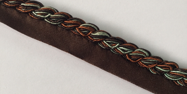 Seafoam - Brown - Copper - Lip Cord