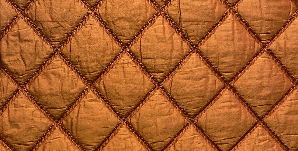 Quilted Rust Diamond