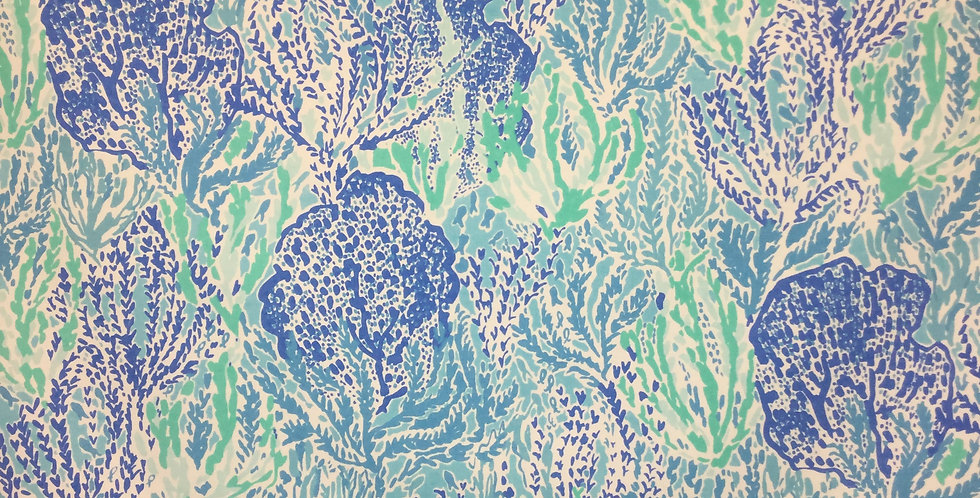 Let's Cha Cha - Shorely Blue - Lily Pulitzer